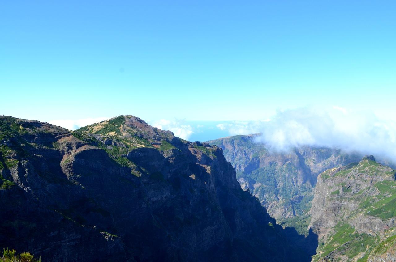 Vereda do Pico do Areeiro na Madeira 2