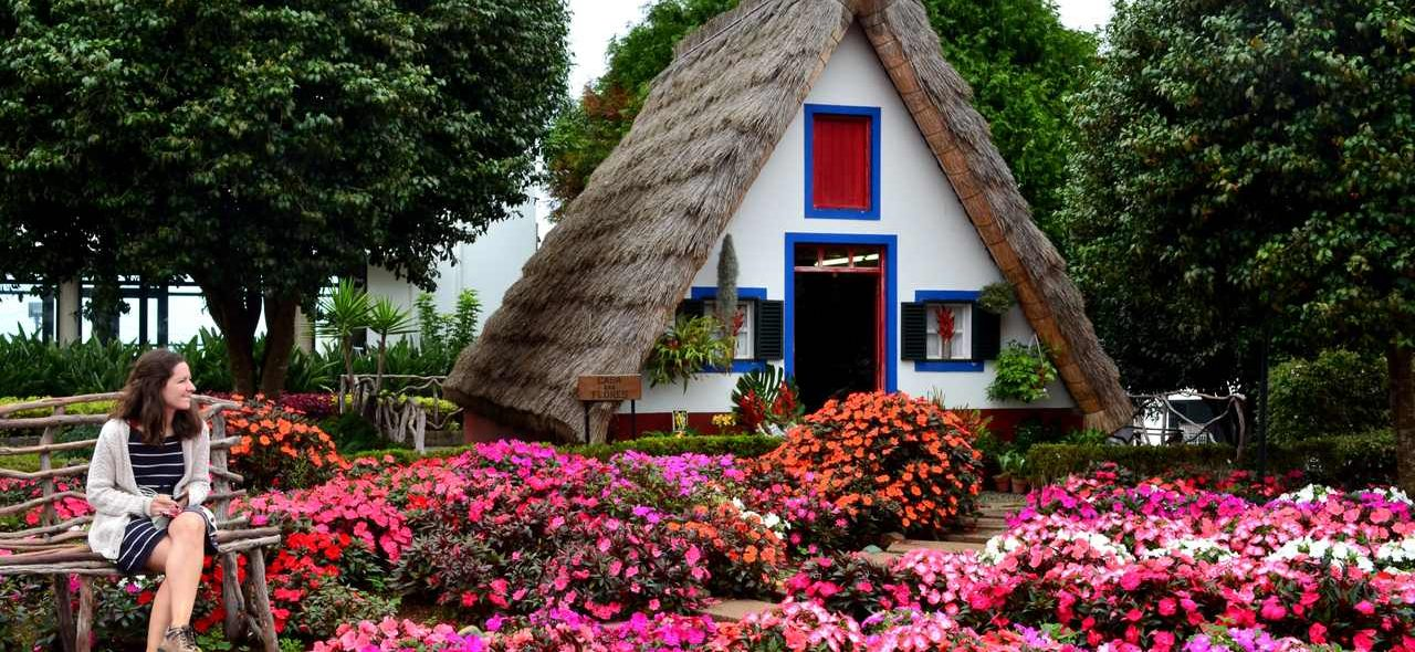 Casa Típica de Santana na Madeira