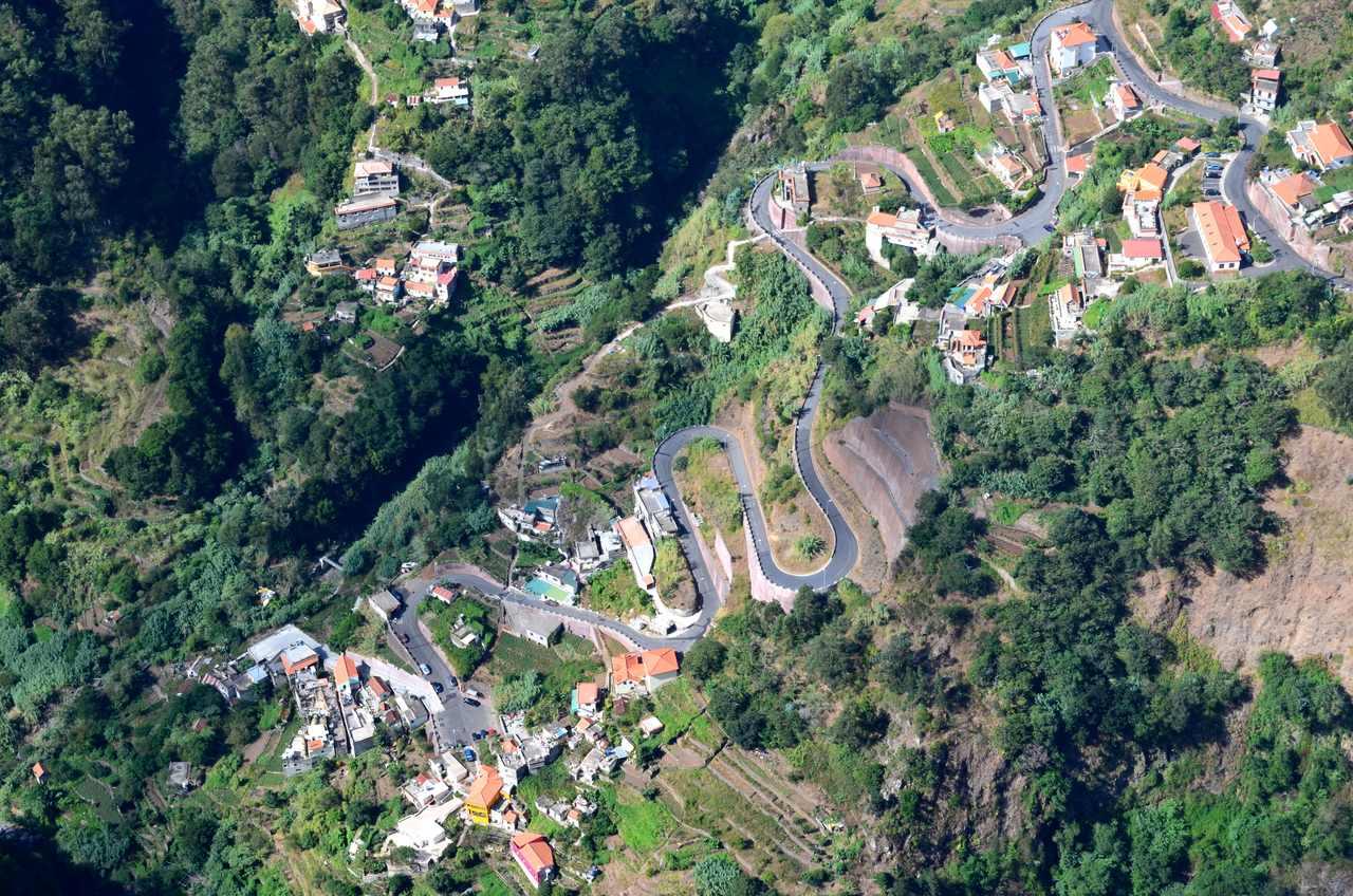 Curral das Freiras fotografada a partir do Miradouro da Eira do Serrado na Madeira