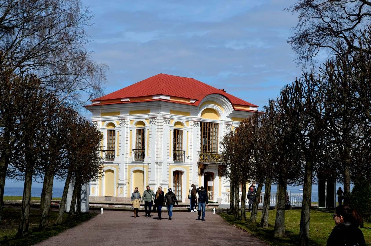 Palácio de Marley no Peterof São Petersburgo Russia