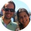 Ana e Marco, autores do blogue de viagens O Mundo em duas Mochilas