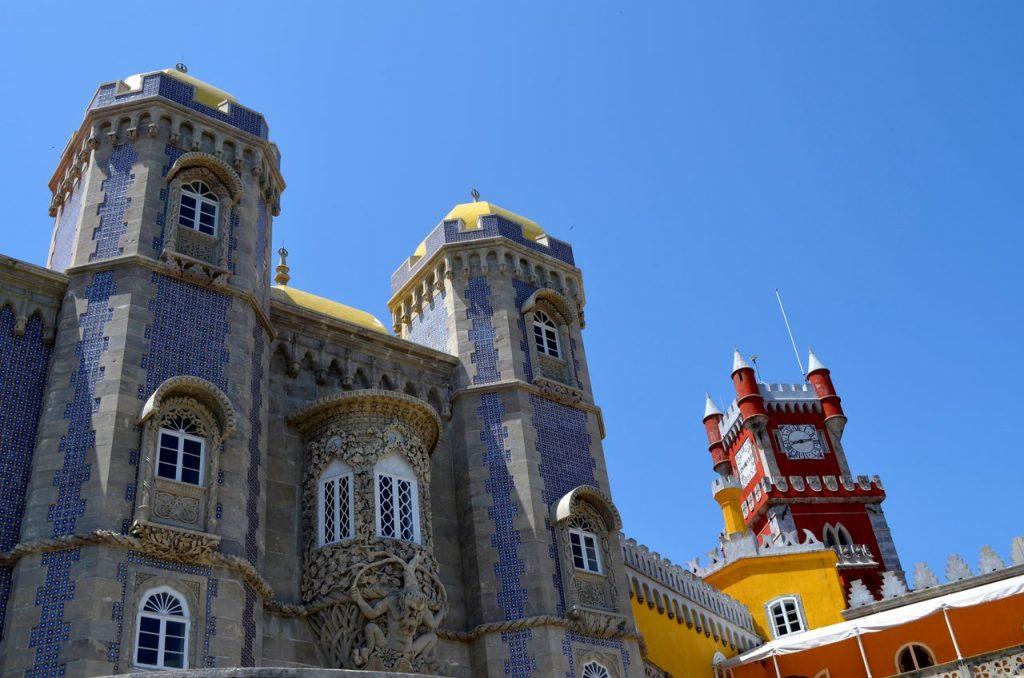 Fachada do Palácio da Pena de Sintra