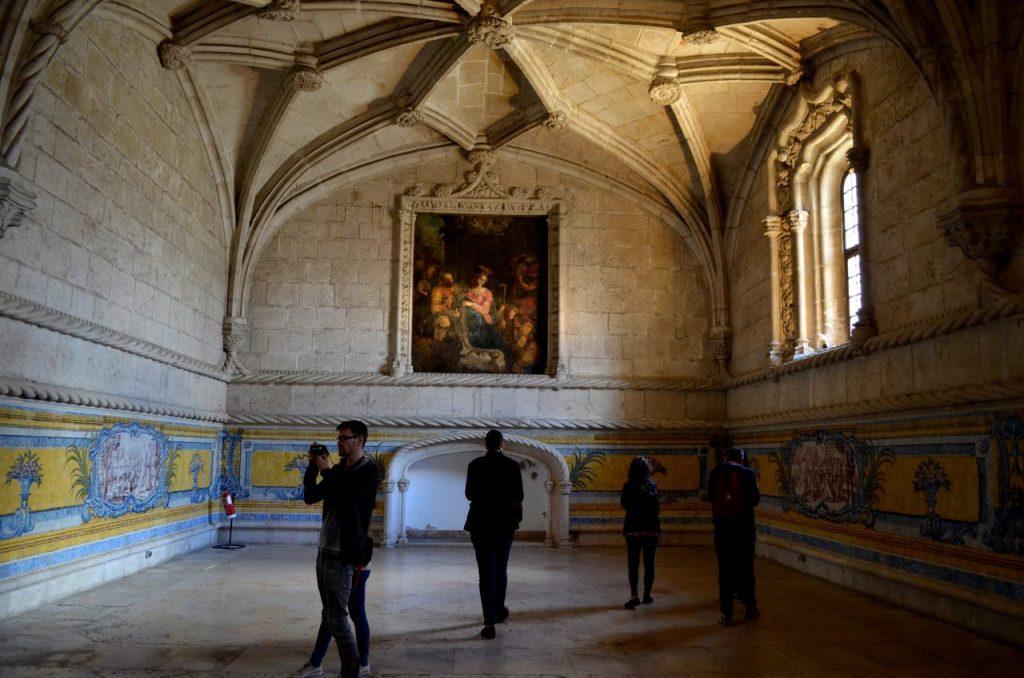Refeitório do Mosteiro dos Jerónimos em Lisboa
