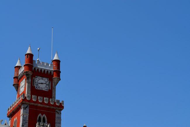 Torre do Relógio Palácio da Pena de Sintra