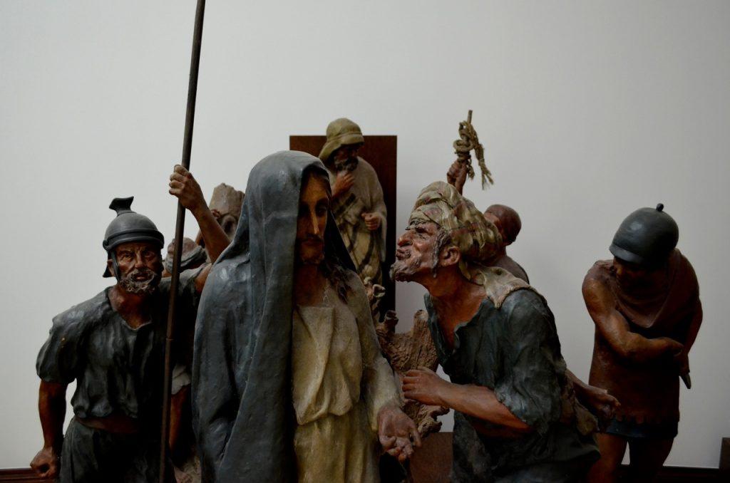 Esculturas no Museu José Malhoa Caldas da Rainha