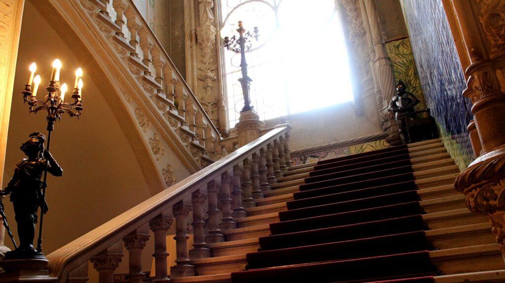 Escadaria do Bussaco Palace Hotel