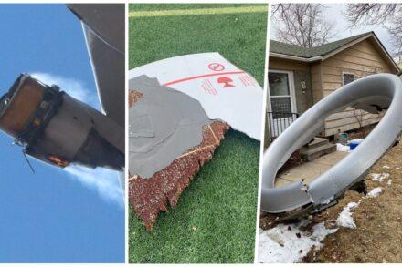 Motor de Boeing 777 da United incendeia-se em Denver e pedaços caem sobre casas
