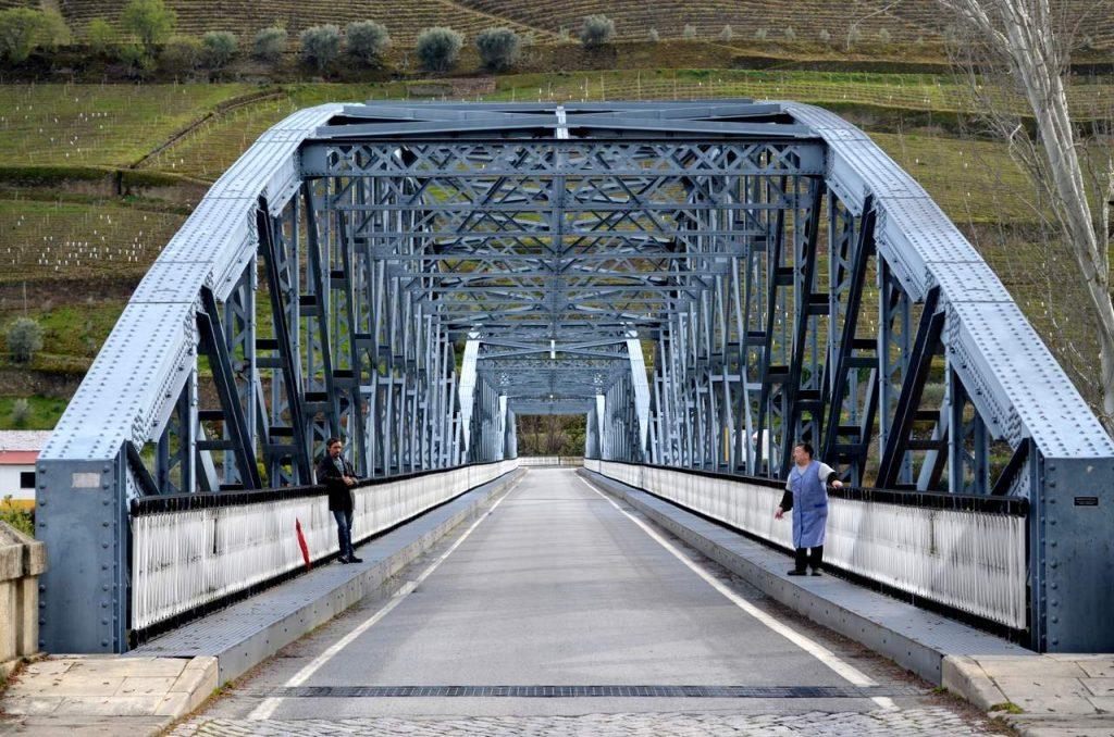 Ponte Metálica do Pinhão no Douro
