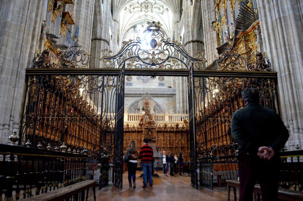 Interior da Catedral de Salamanca 1