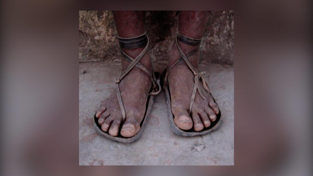 Tarahumara-sandal Chihuahua México