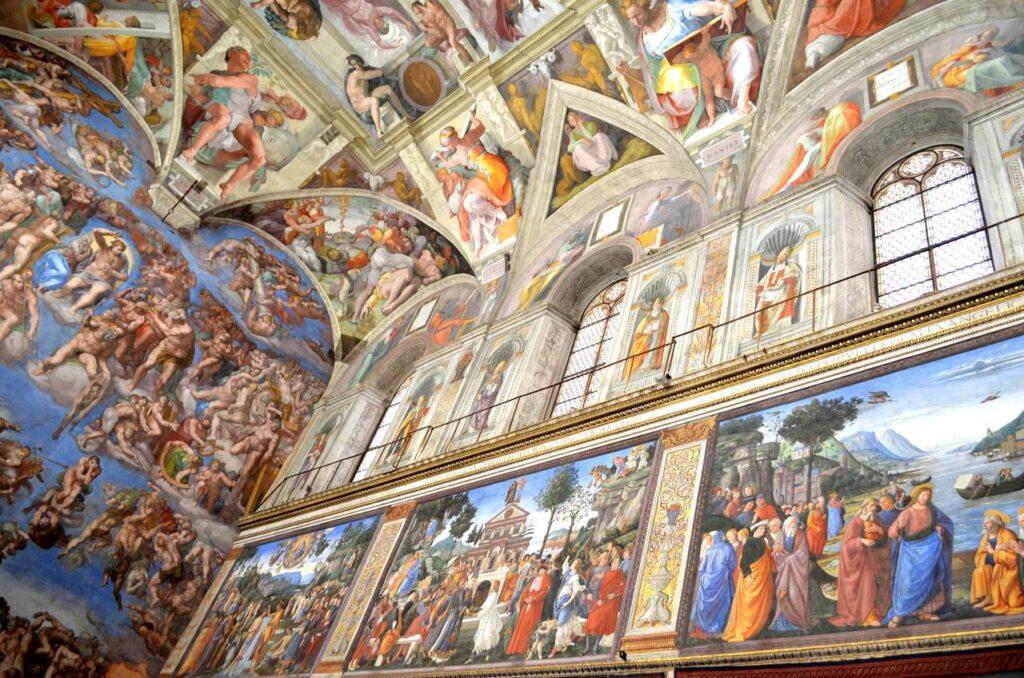 Capela Sistina Vaticano em Roma Itália