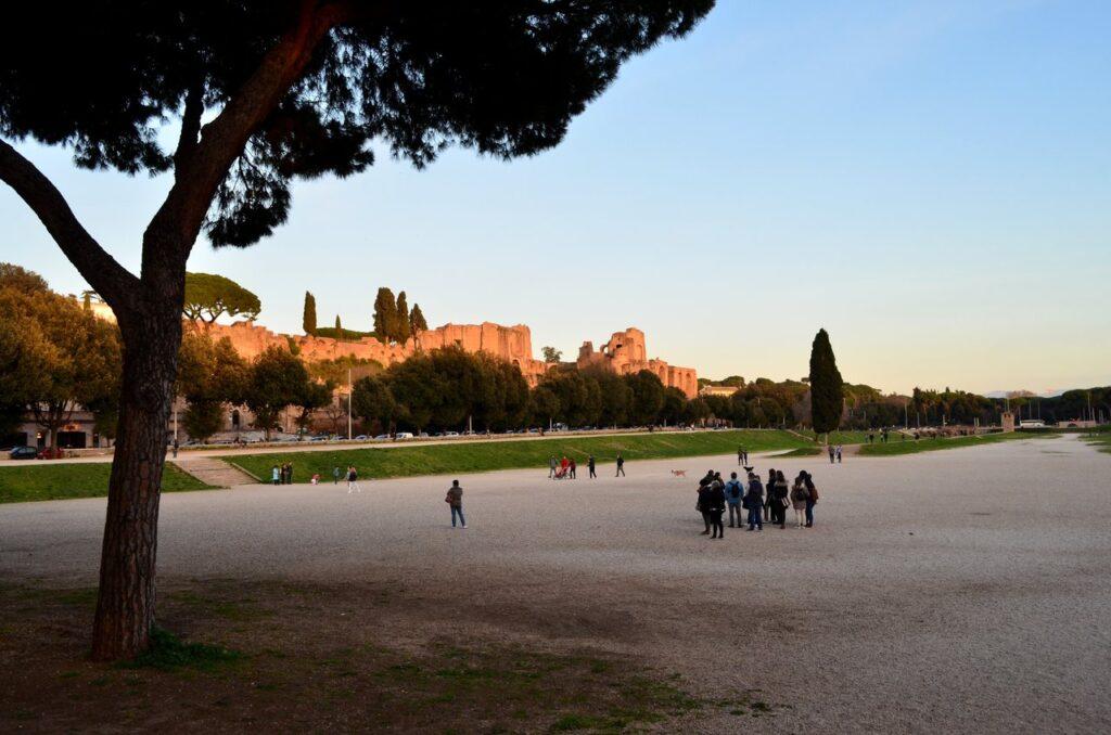 Circo Máximo de Roma Itália