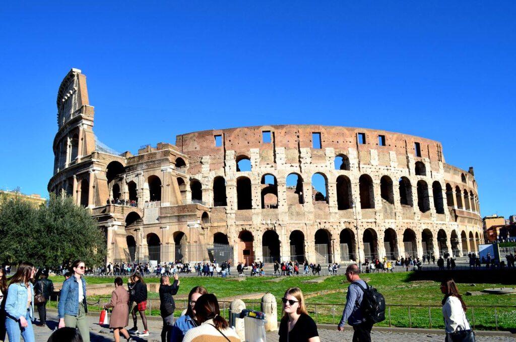 Coliseu de Roma em Itália