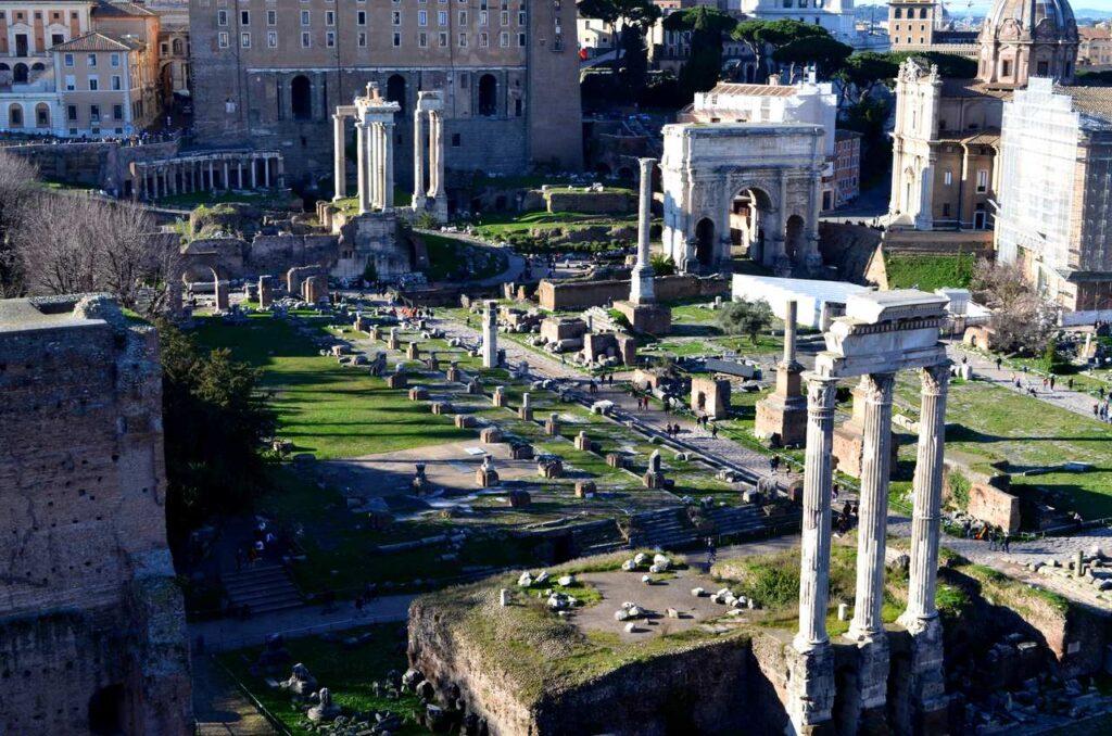 Forum Romano de Roma, Itália