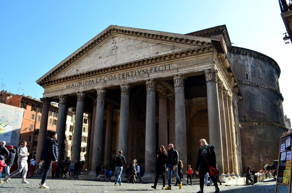 Panteão de Roma em Itália