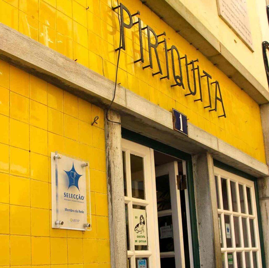 Casa Piriquita em Sintra