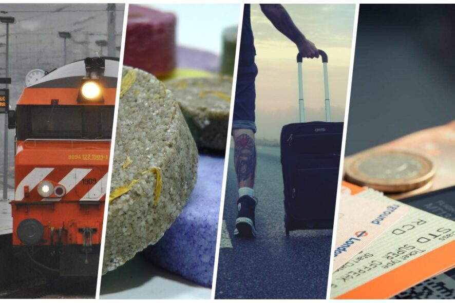 capa seis topicos para viagens mais sustentáveis