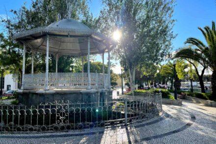 Coreto no Jardim do Coreto de Tavira