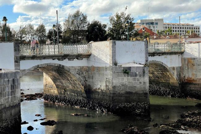 Ponte Romana de Tavira aproximada