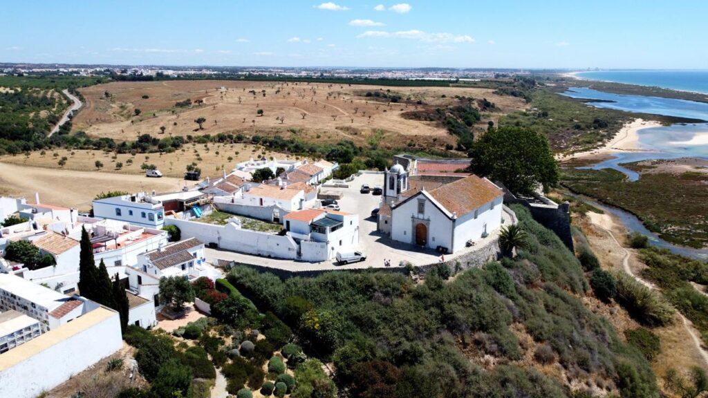 Vista aérea de Cacela Velha