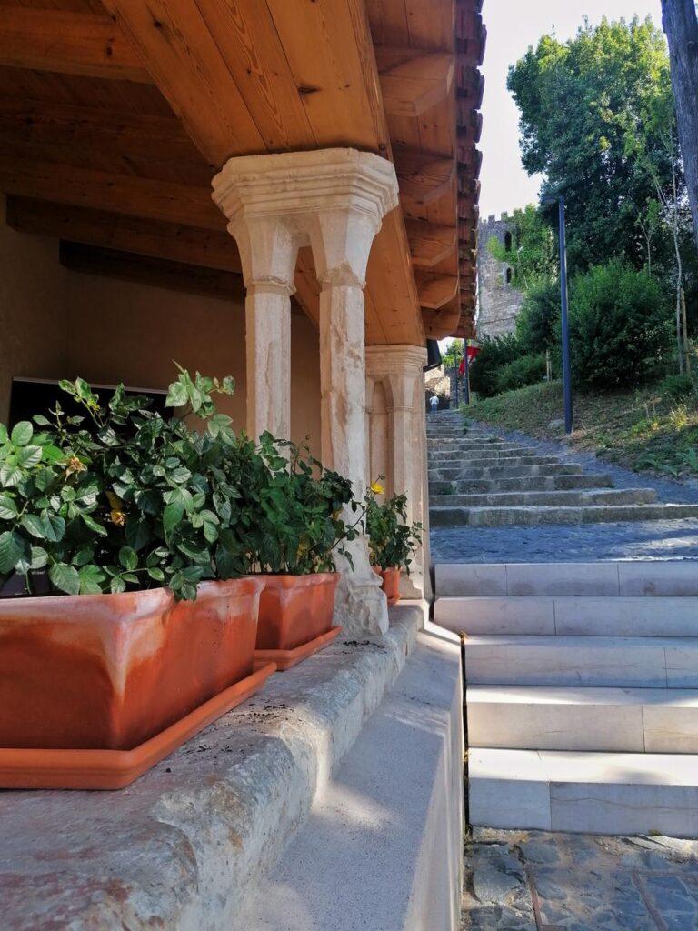 Castelo de Leiria Entrada
