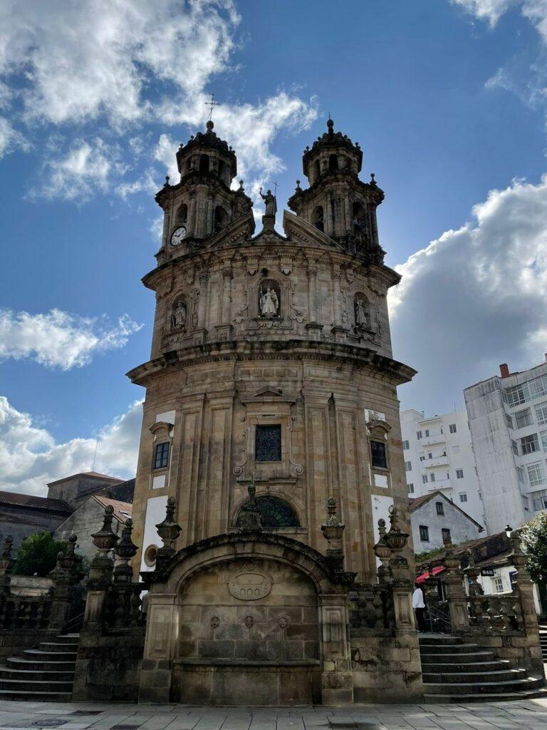 Igreja da Virxe Peregrina em Pontevedra Caminho de Santiago