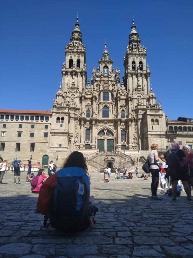 Praço do Obradoiro e Catedral de Santiago de Compostela Caminho de Santiago