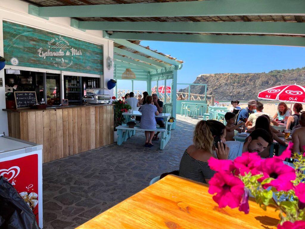Restaurante Esplanada do Mar na Praia de Odeceixe